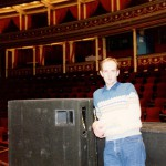 On stage at the Royal Albert Hall - by the third night I felt much more at home!
