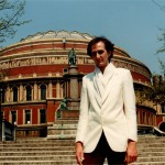 Outside the Royal Albert Hall in London - hoping one day to play there!
