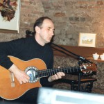 Performing at King's Lynn Arts Centre - a set of classical/jazz style arrangements for two guitars